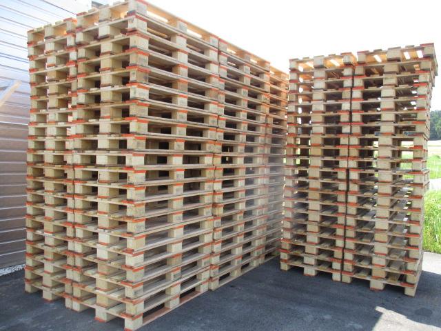 Restposten gebrauchte Mehrwegpalette 800 x 1200 mm