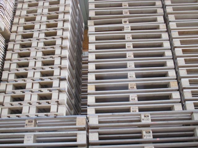 Restposten Non-Wood Paletten 800 x 1200 mm