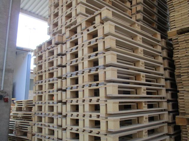 Restposten Non-Wood Paletten 800 x 1200 x 129 mm